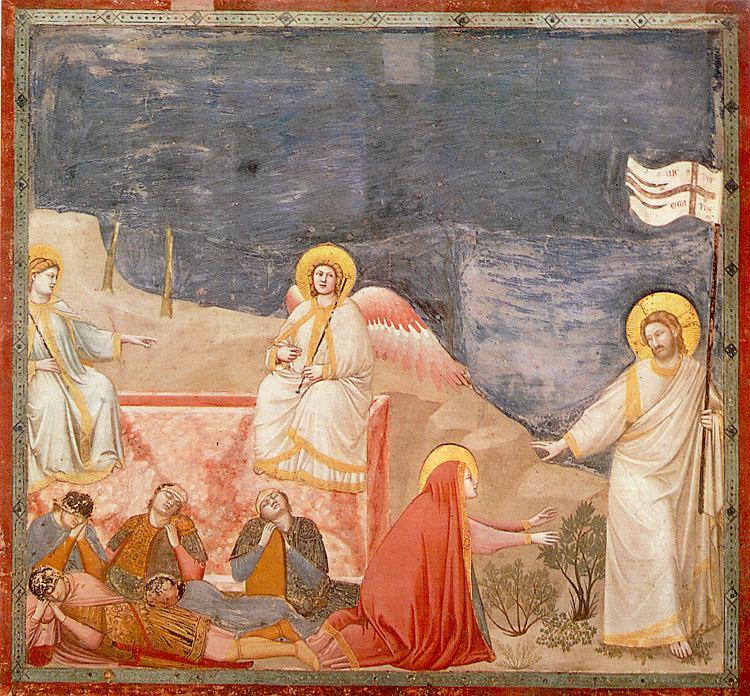zmartwychwstanie - nie zatrzymuj Mnie